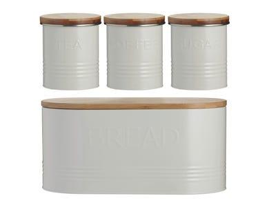 Image for Typhoon Ess 4pc Jar Set Cream