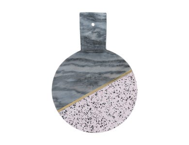 Image for Elements Terrazzo/Marble Rnd 25cm Hdled Board