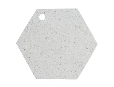 Image for Elements Terrazzo 30cm Hex Chop/Serving Brd