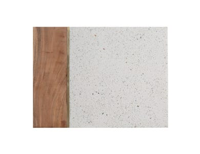 Image for Elements Terrazzo/Acacia 40 X 30cm Rect Board