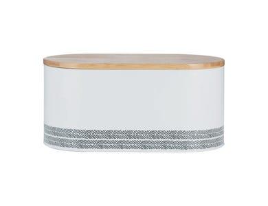 Image for White Monochrome Bread Bin