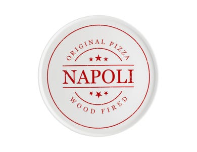 Typhoon World Foods 31cm Napoli Pizza Plate