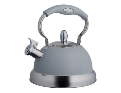 Image for Living Grey Stove Top Kettle 2.5l