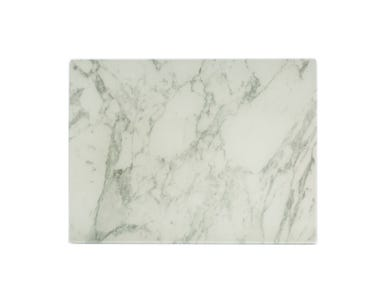 Image for Marble Effect 40x30cm Glass Worktop Protector