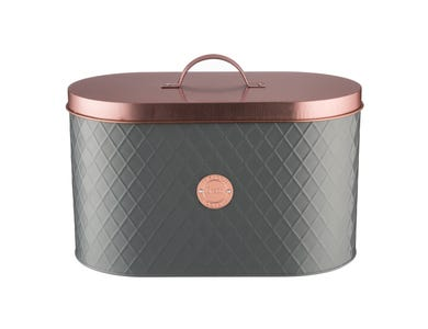 Image for Henrik Copper Lid Bread Bin