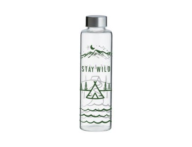 Pure Stay Wild Glass Bottle 600ml