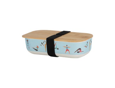 Pure Active Bamboo Fibre Lunch Box