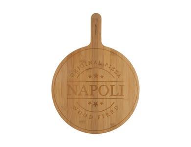World Foods 32cm Napoli Pizza Serving Board