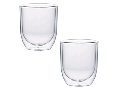 Cafe Concept Set Of2 D/Wall Americano Glasses