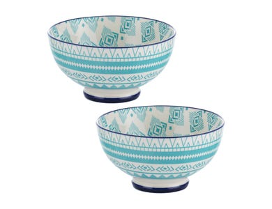 World Foods Set Of 2 15cm Lima Bowls