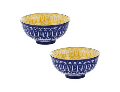 Typhoon World Foods Set of 2 Tunis Bowls 11.5cm